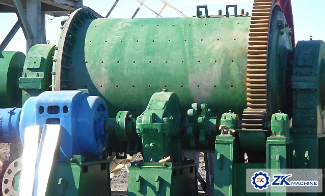 Russian gold Ore-dressing ball mill, crusher project