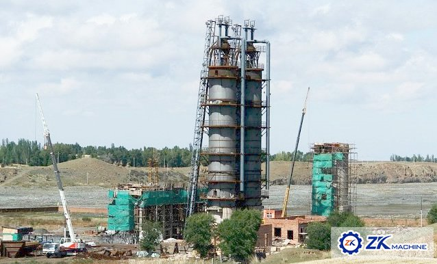 Lime Vertical Shaft Kiln