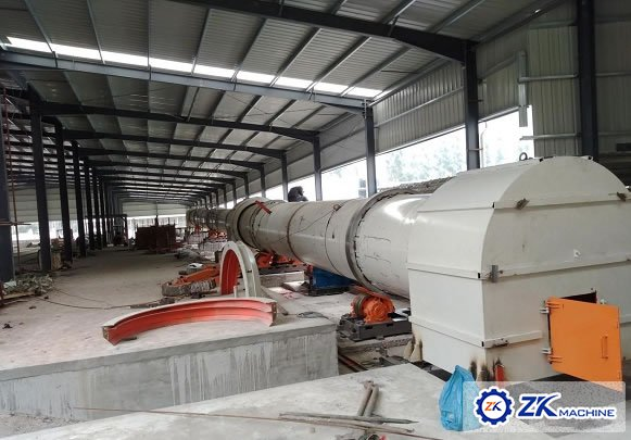 Fujian 100000 m³/a Sludge Expanded Aggregate Production Line